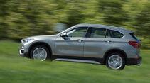 BMW X1 20i xDrive, Seitenansicht
