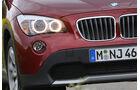 BMW X1 23d x-Drive, SUV, Scheinwerfer