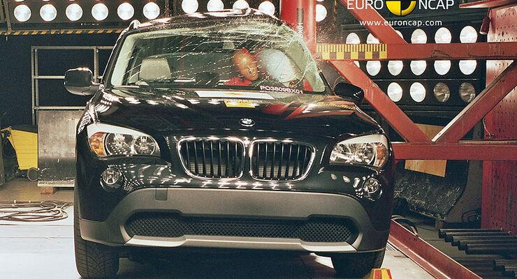 BMW X1 Crashtest