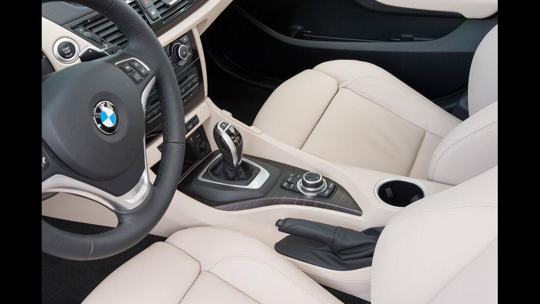 BMW X1, Fahrersitz