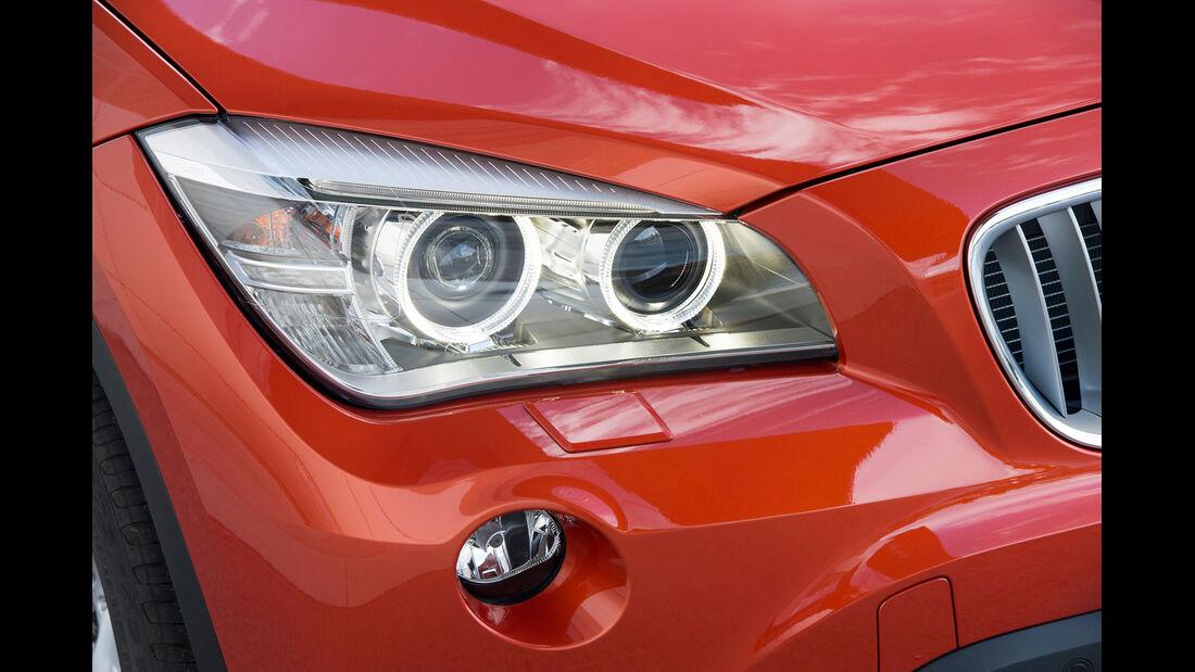 BMW X1, Frontscheinwerfer