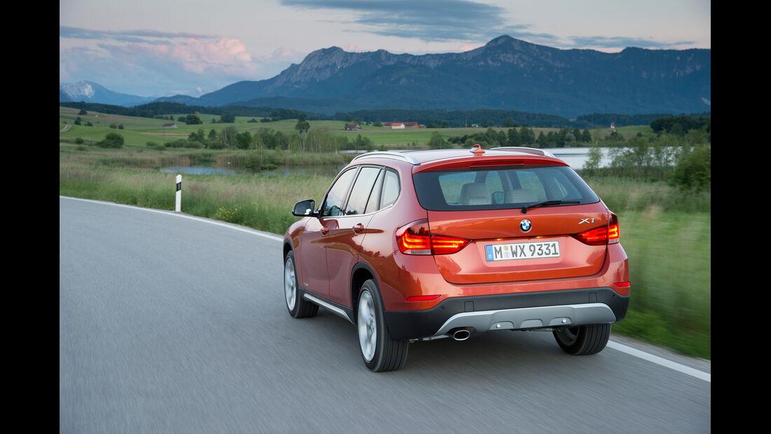 BMW X1, Heckansicht