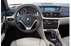 BMW X1, Lenkrad, Cockpit