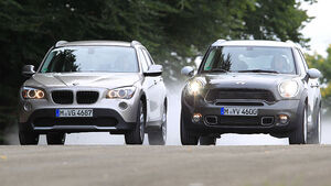 BMW X1, Mini Countryman