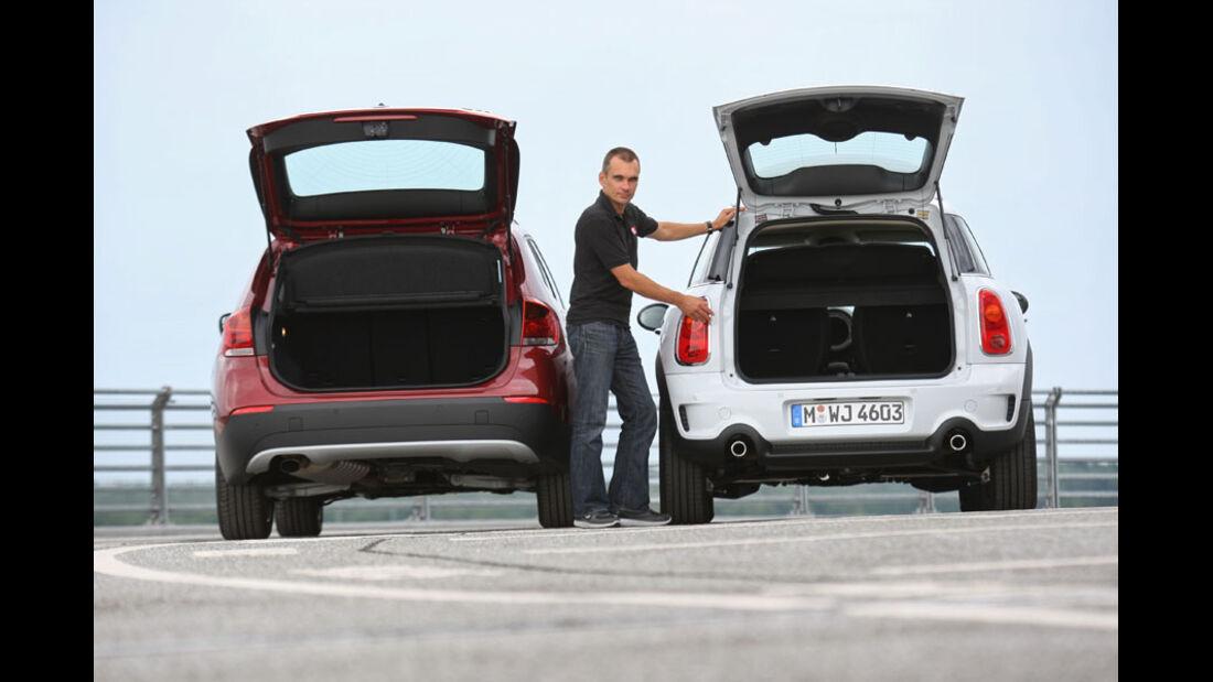BMW X1, Mini Countryman, Heckklappe