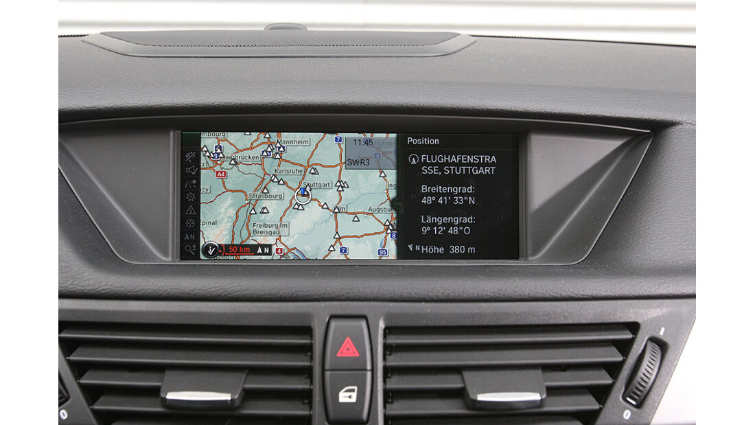 BMW X1 Navigationssystem