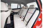 BMW X1, Rücksitze