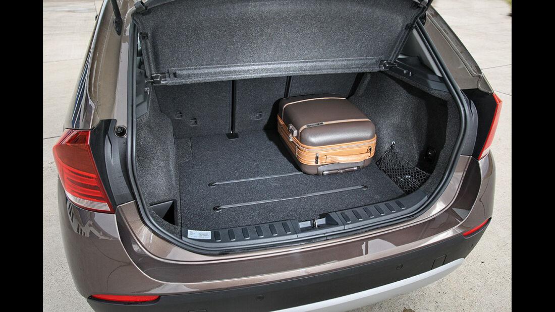 BMW X1 s-Drive 18d Kofferraum