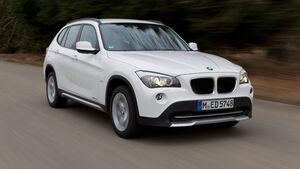 BMW X1 s-Drive 20d, Frontansicht
