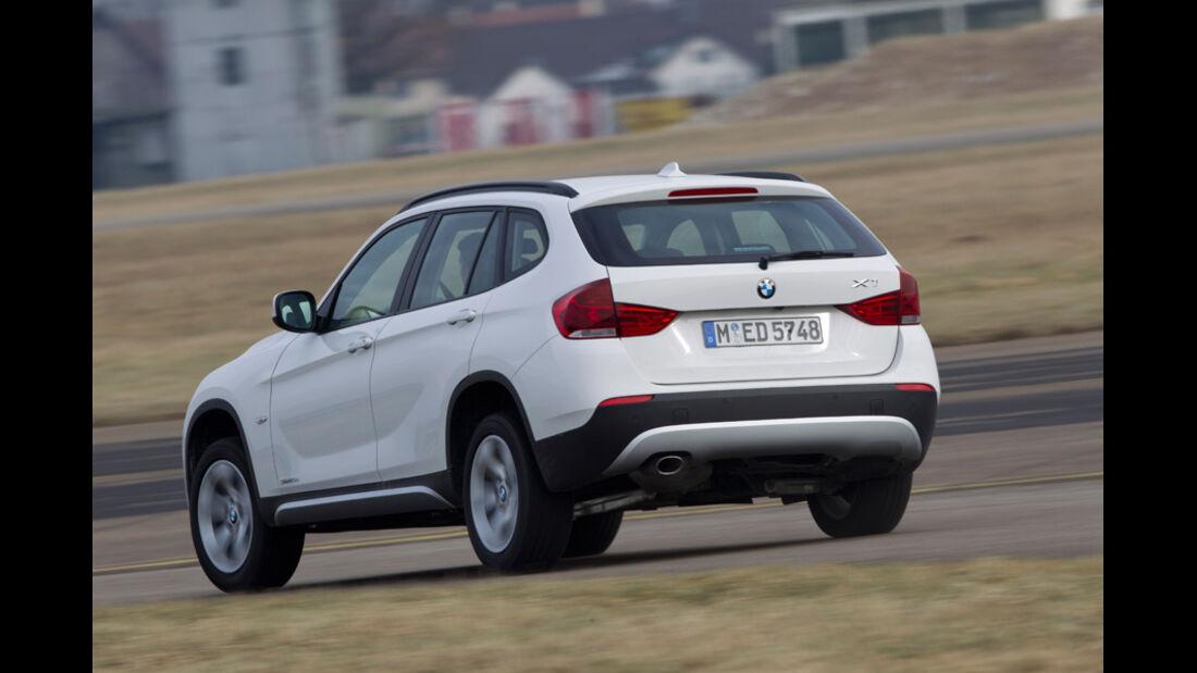 BMW X1 s-Drive 20d, Heck