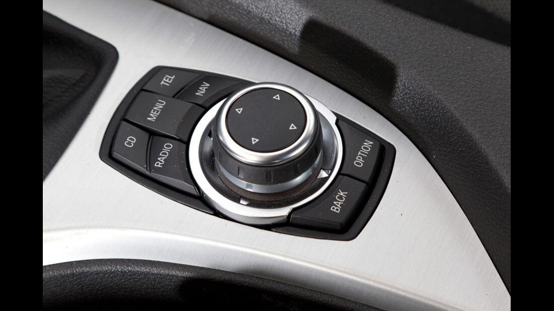 BMW X1 s-Drive 20d, Multifunktionsrad, Bedienelement, Detail