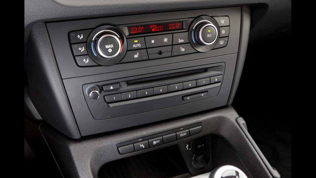 BMW X1 s-Drive 20d, Radio, Mittelkonsole