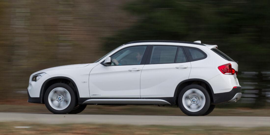 BMW X1 s-Drive 20d, Seitenansicht