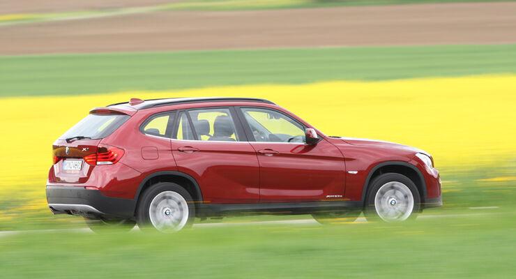 BMW X1 sDrive 18d, Seitenansicht