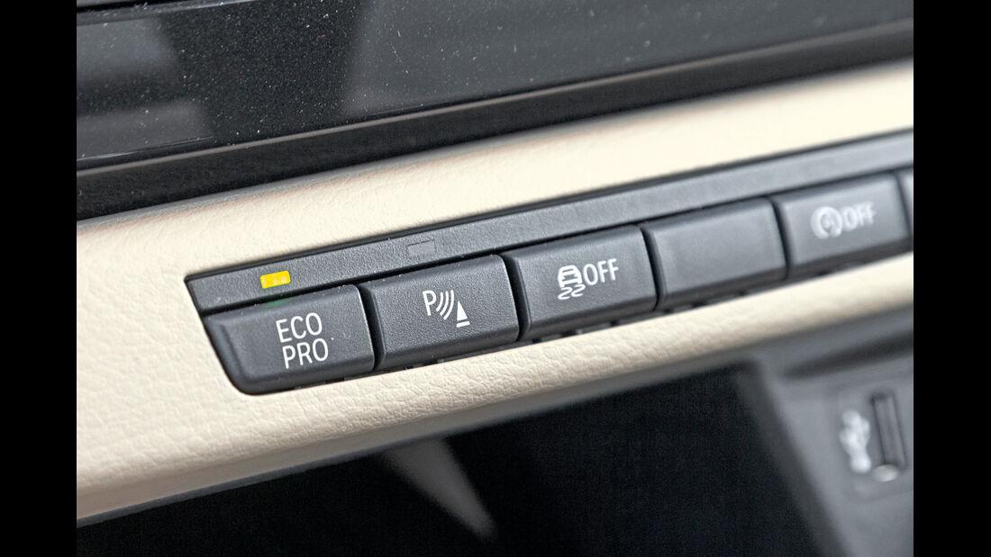 BMW X1 sDrive 20i, Bedienelemente