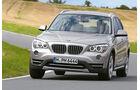 BMW X1 x-Drive 18d, Frontansicht