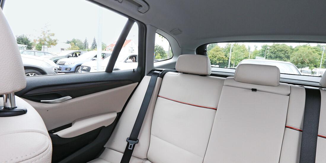 BMW X1 x-Drive 18d, Rücksitze