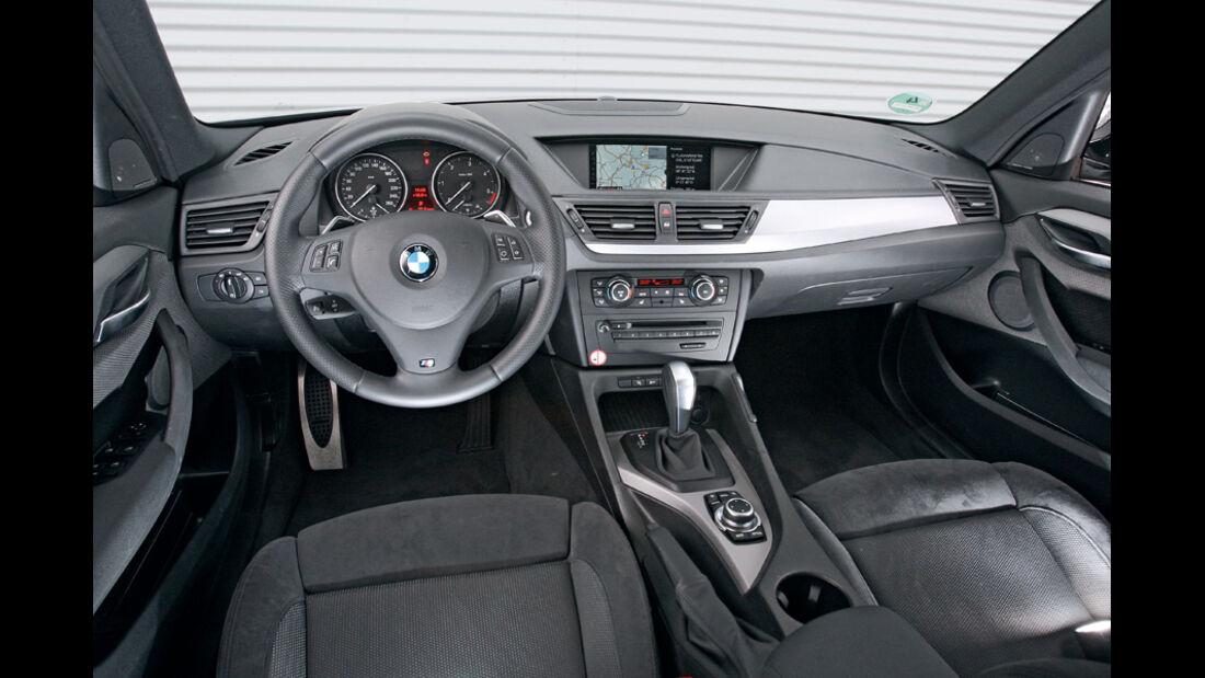 BMW X1 x-Drive 20d, Cockpit
