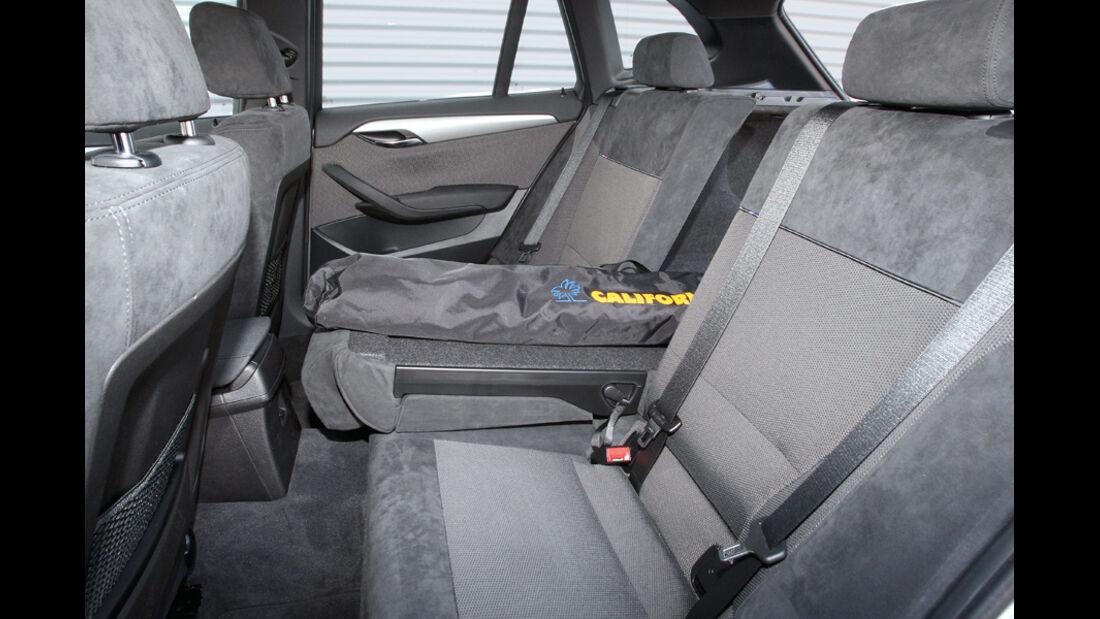BMW X1 x-Drive 20d, Fond