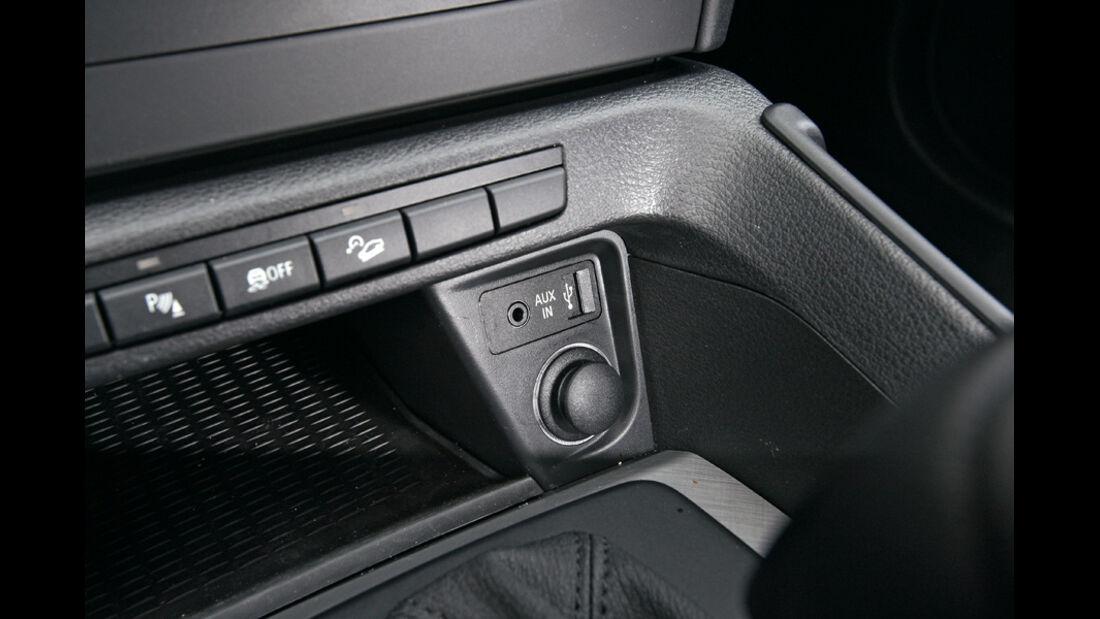 BMW X1 x-Drive 20d, Knöpfe