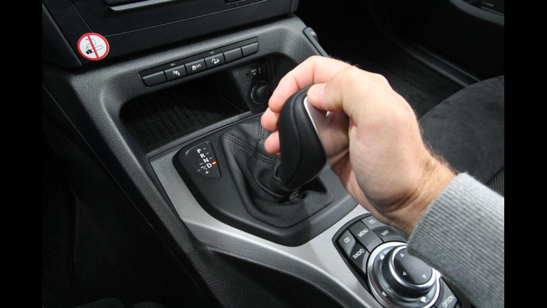 BMW X1 x-Drive 20d. Schaltung
