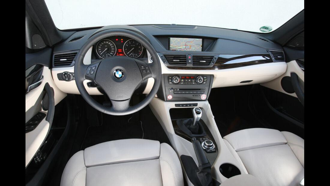 BMW X1 x-Drive 28i, Cockpit