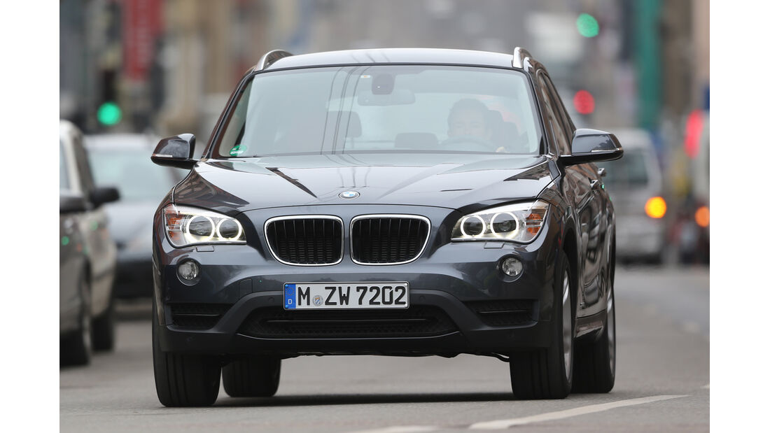 BMW X1 x-Drive 28i, Frontansicht
