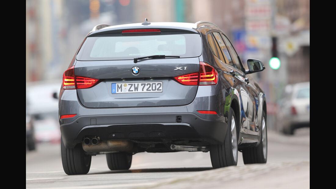 BMW X1 x-Drive 28i, Heckansicht