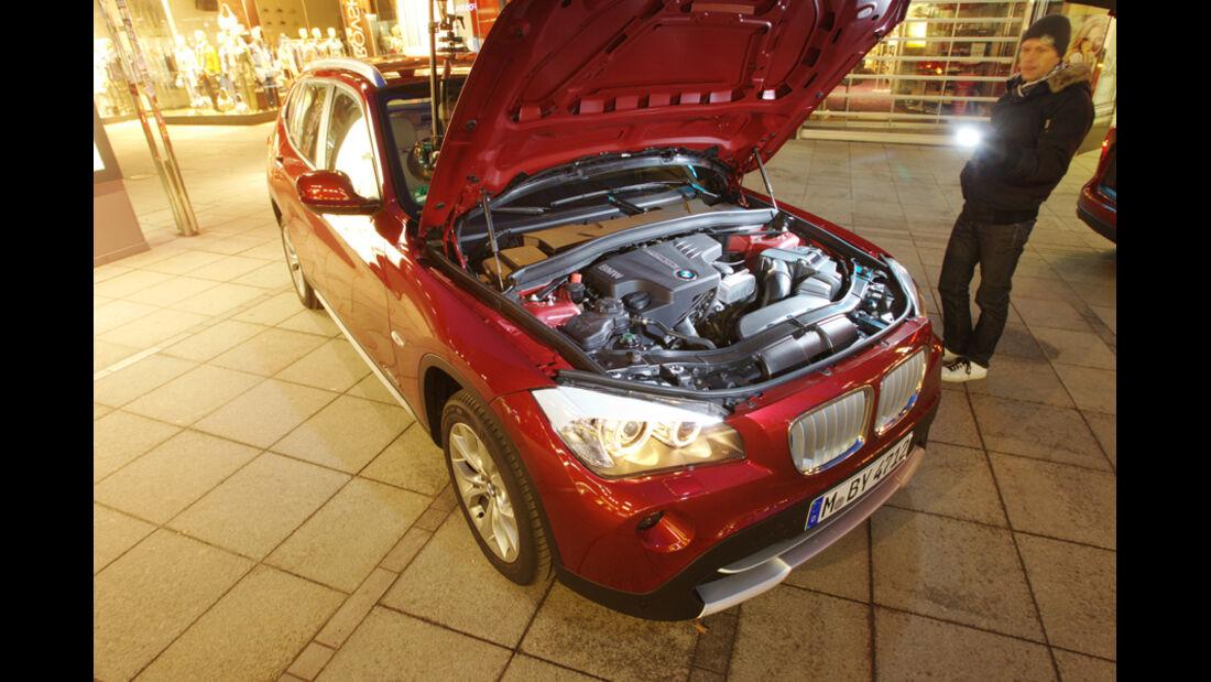 BMW X1 x-Drive 28i, Motorraum
