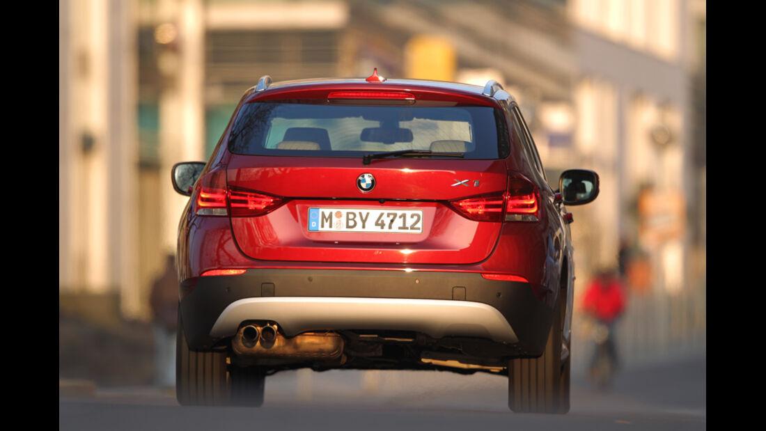 BMW X1 x-Drive 28i, Rückansicht