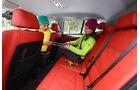 BMW X1 x-Drive 28i, Rücksitz, Beinfreiheit