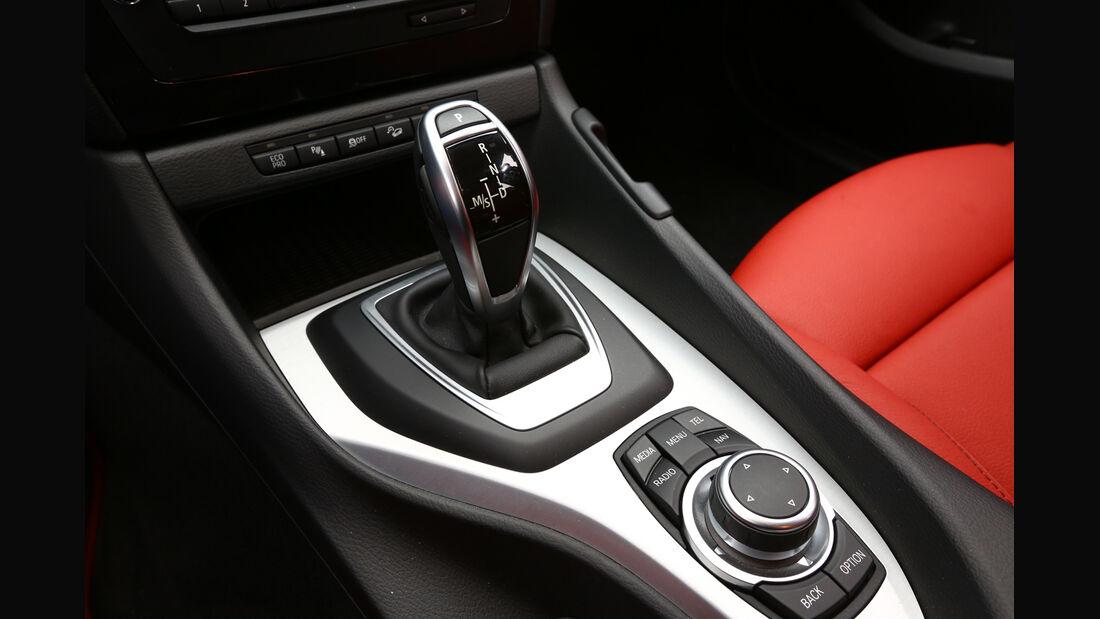 BMW X1 x-Drive 28i, Schalthebel, Schaltknauf