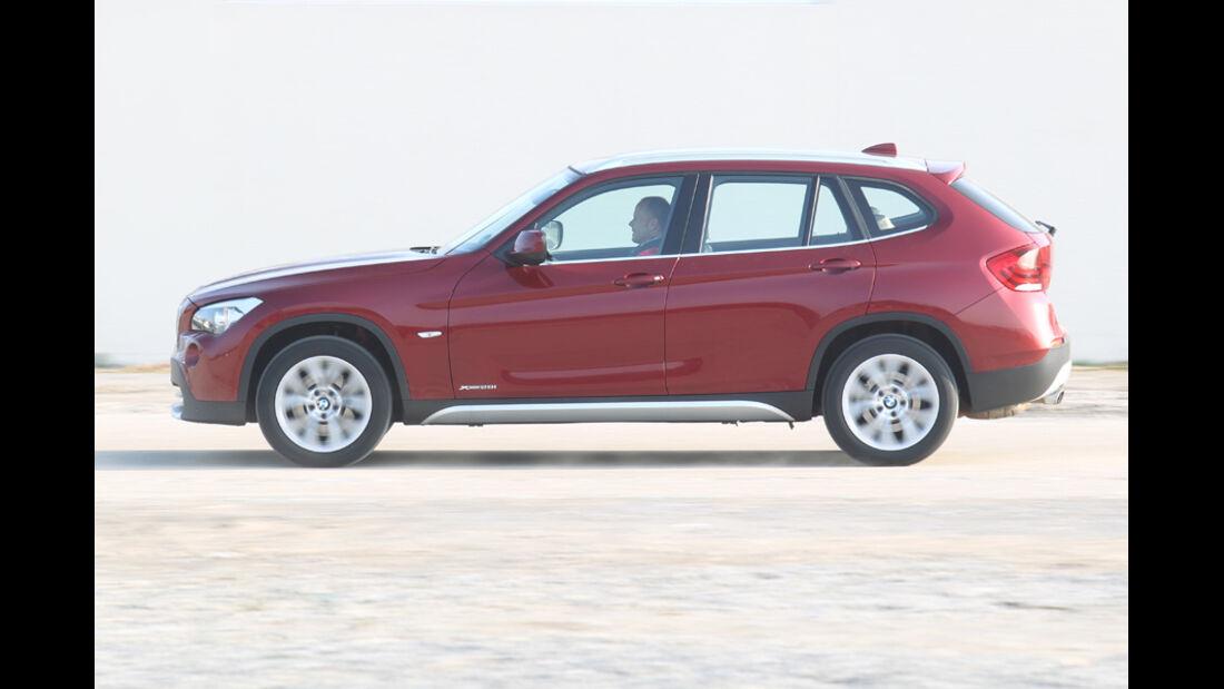 BMW X1 x-Drive 28i, Seitenansicht