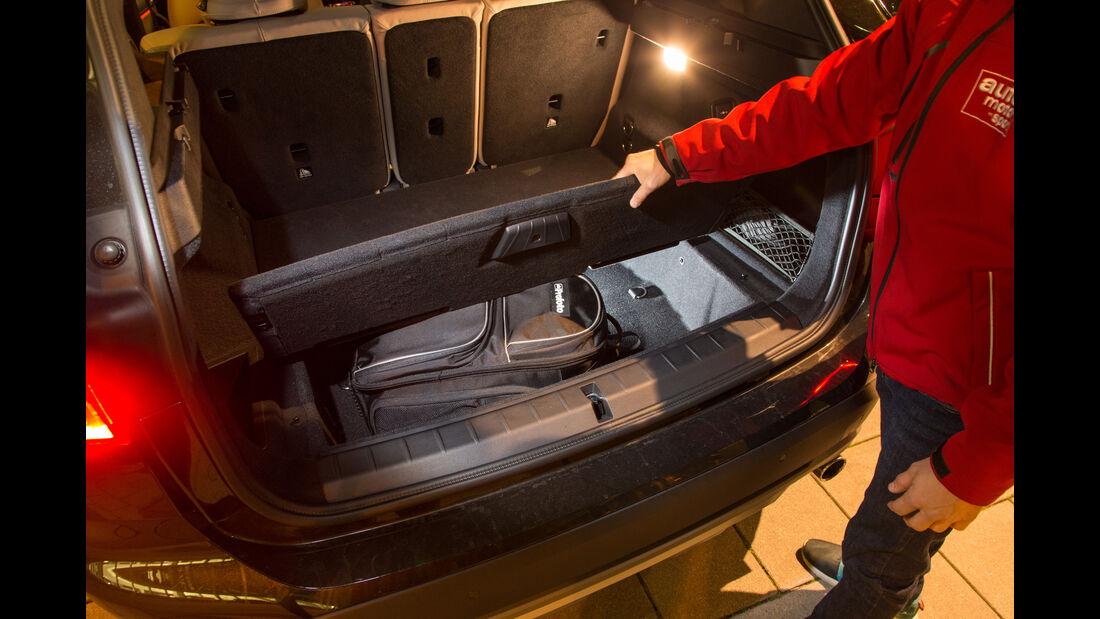 BMW X1 xDrive 20d, Ablagefach