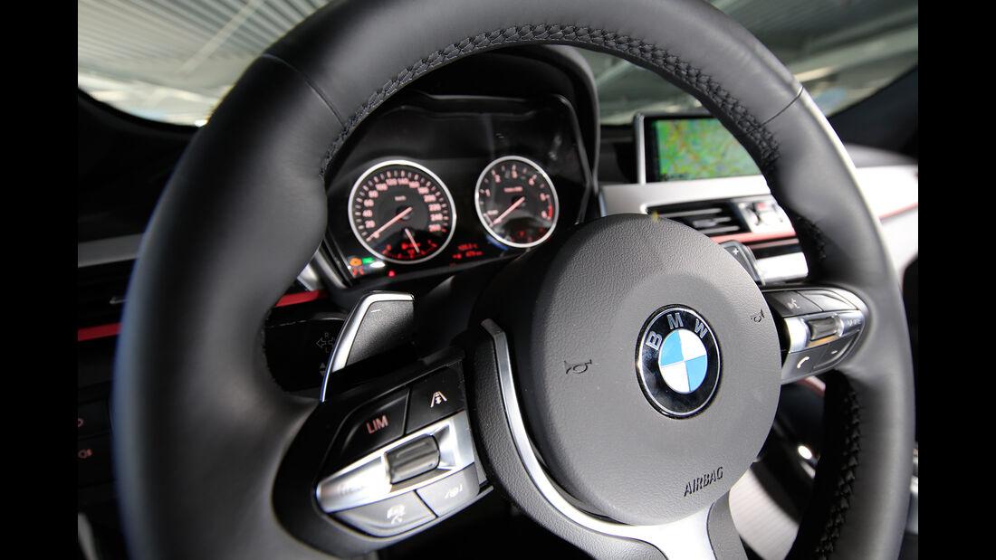 BMW X1 xDrive 20d, Anzeigeinstrumente