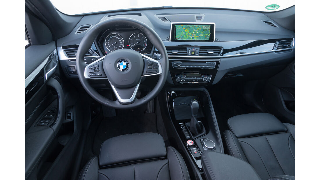 BMW X1 xDrive 20d, Cockpit