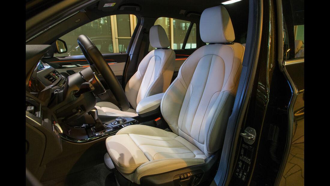 BMW X1 xDrive 20d, Fahrersitz