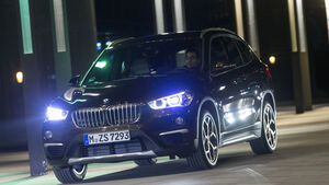 BMW X1 xDrive 20d, Frontansicht
