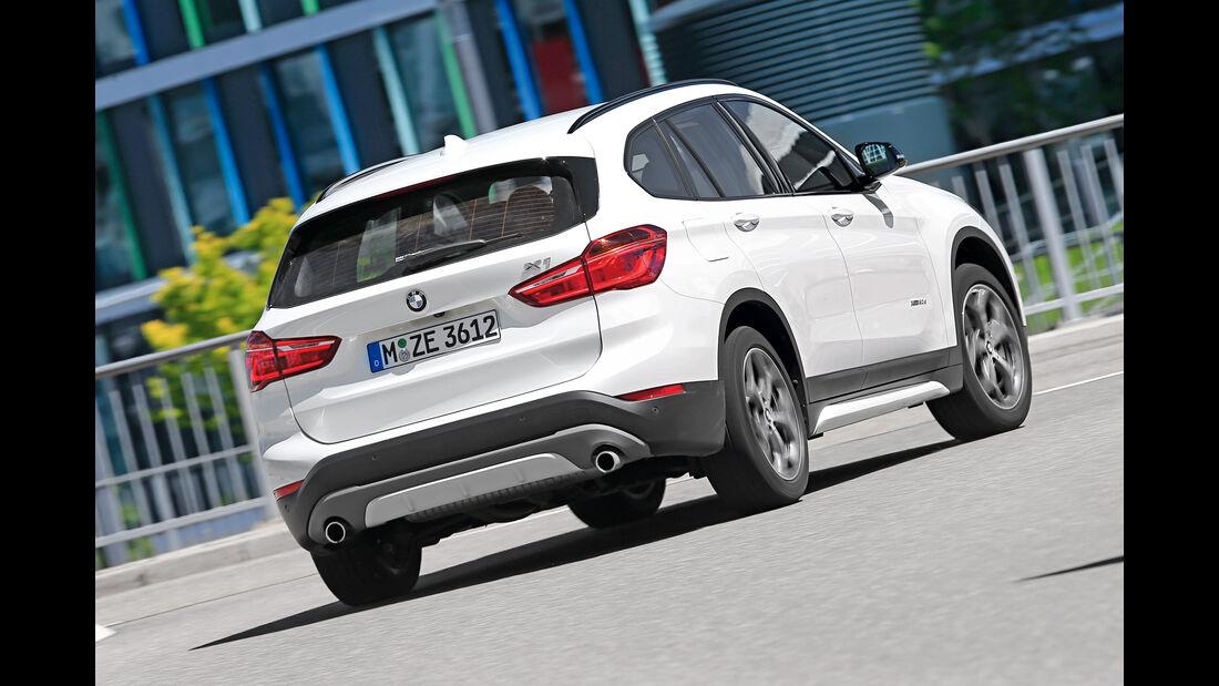 BMW X1 xDrive 20d, Heckansicht