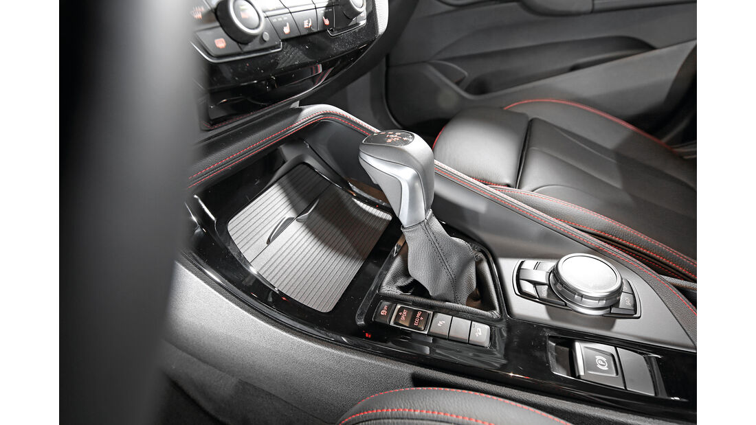 BMW X1 xDrive 20d, Schalthebel