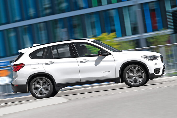 BMW X1 xDrive 20d, Seitenansicht