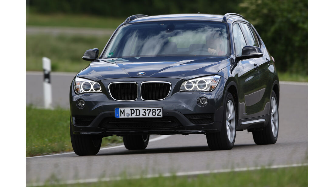 BMW X1 xDrive 20d Sport Line, Frontansicht