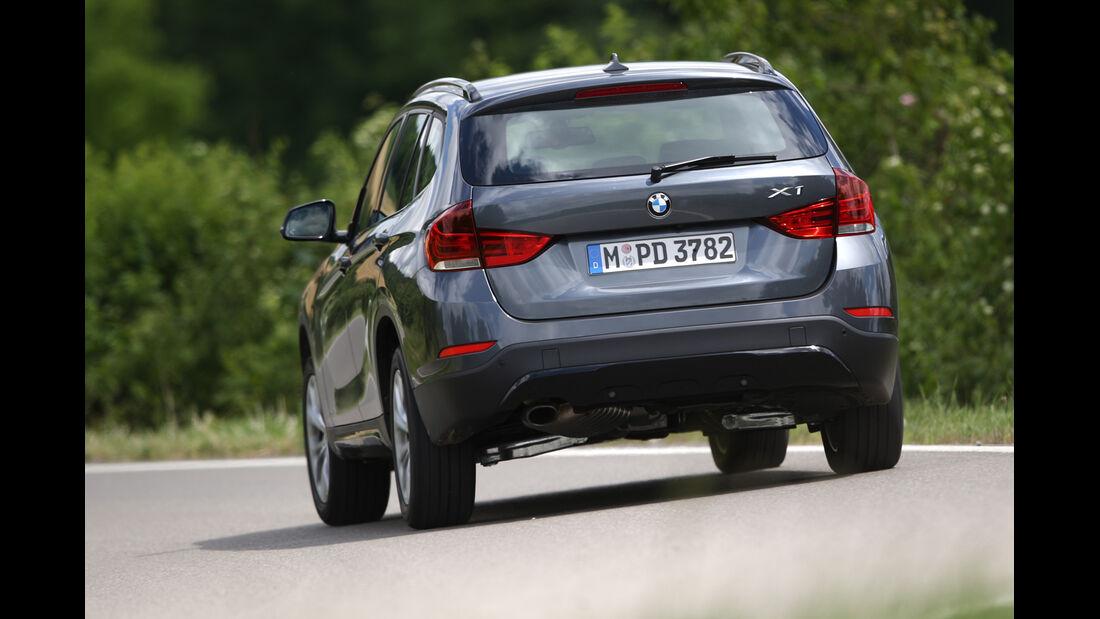 BMW X1 xDrive 20d Sport Line, Heckansicht
