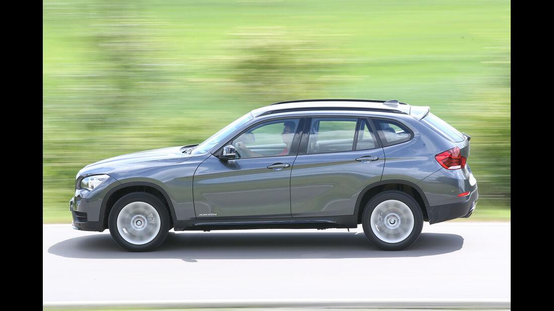 BMW X1 xDrive 20d Sport Line, Seitenansicht