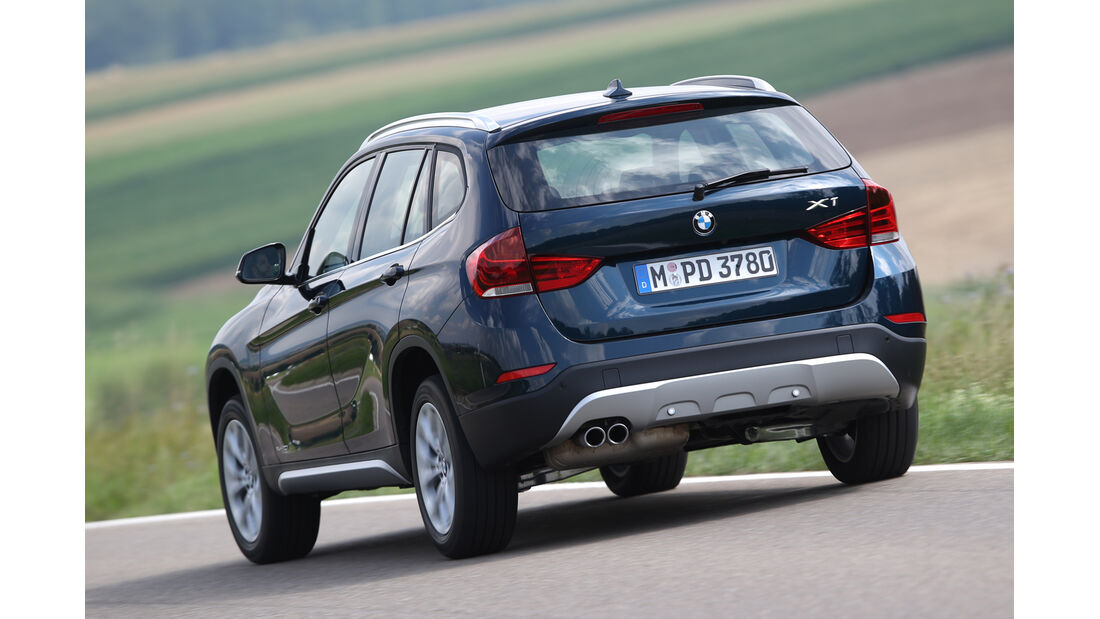BMW X1 xDrive 20i, Heckansicht