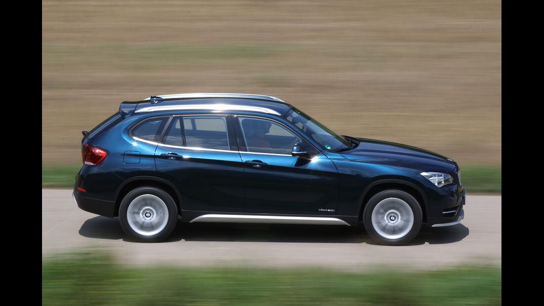 BMW X1 xDrive 20i, Seitenansicht