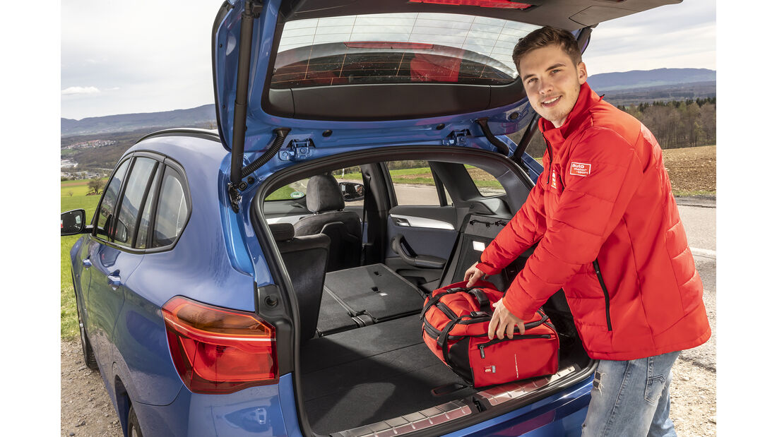 BMW X1 xDrive 25d, Kofferraum