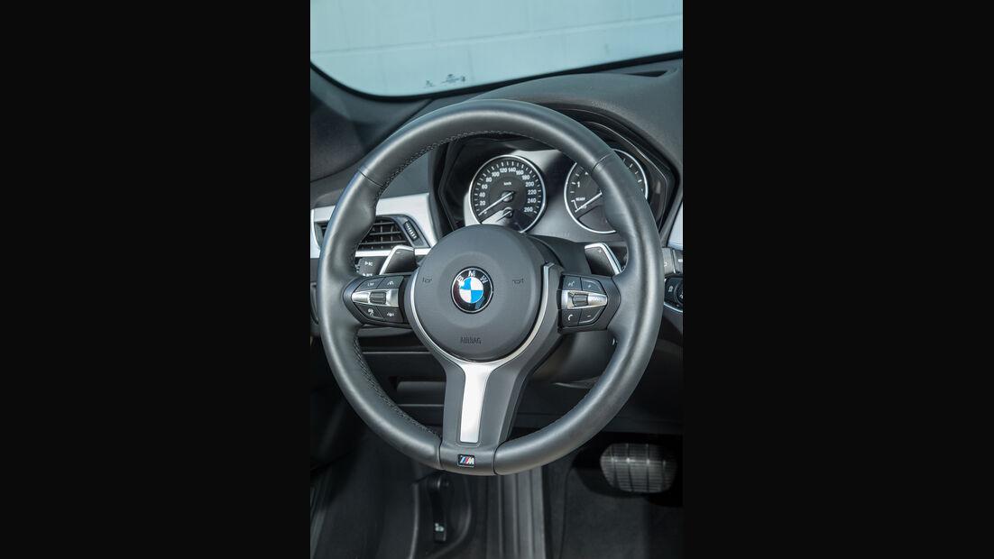 BMW X1 xDrive 25i, Lenkrad