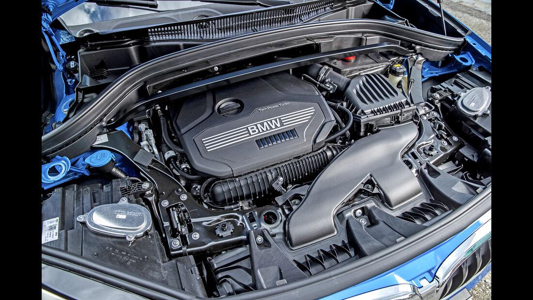 BMW X1 xDrive 25i M Sport, Motorraum