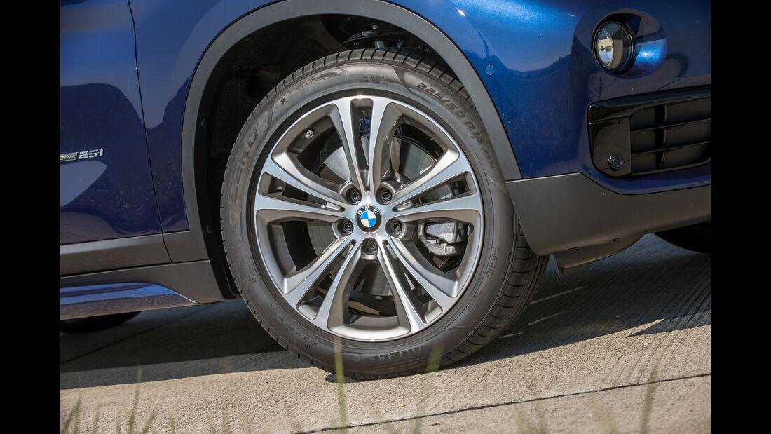 BMW X1 xDrive 25i, Rad, Felge